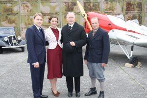"""ZDF-Pressetermin am Set zu """"Alleinflug"""", 07.10.2013"""