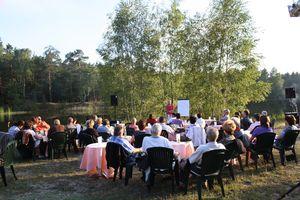 Der Jamnoer See als Veranstaltungskulisse