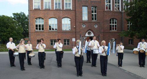 Scheckübergabe an Cottbuser Musikspatzen, 01.07.2013