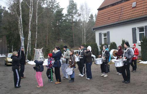 Cottbuser Musikspatzen zwitschern im Wald 003