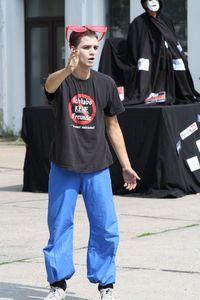 2011-06-15 Straßentheater beim Unifest 51