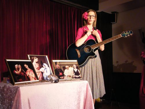 "Silvia Doberenz im ""Kuckuck"", 26.04.2015"
