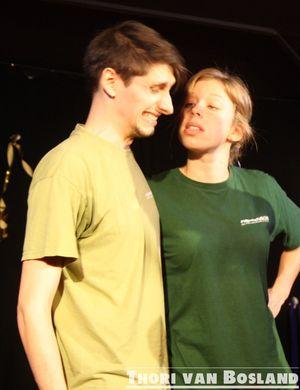 Christopher Meierhold und Anna Oprei