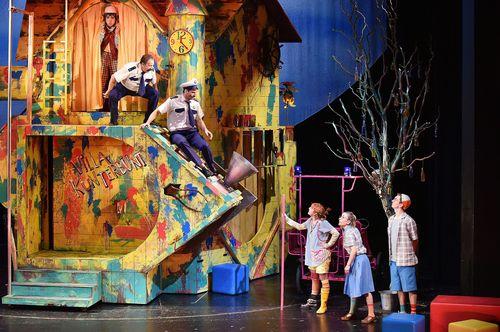 Staatstheater Cottbus PIPPI LANGSTRUMPF von Astrid Lindgren Szenenfoto © Marlies Kross